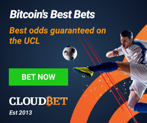Soccer bitcoin betting odds results